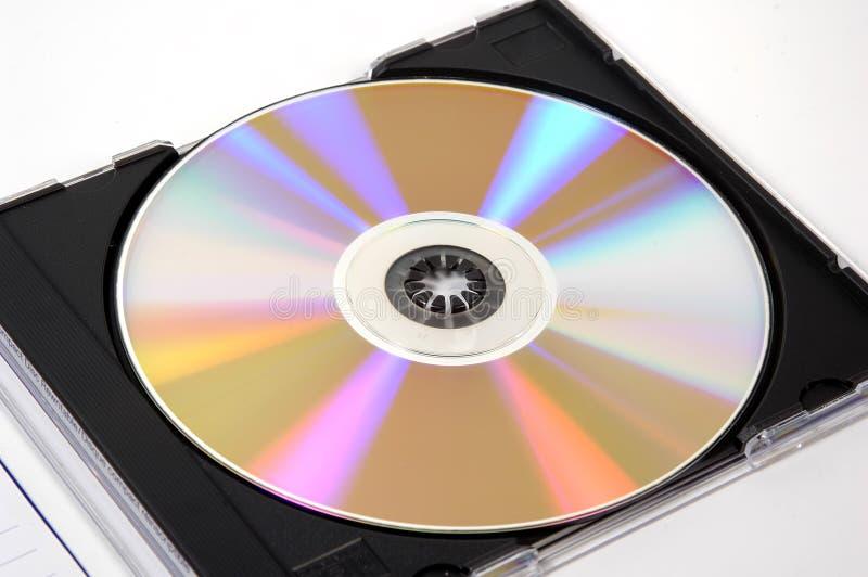 покрывайте компактный диск стоковое фото rf