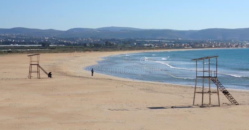 покрышка Ливана пляжа стоковая фотография