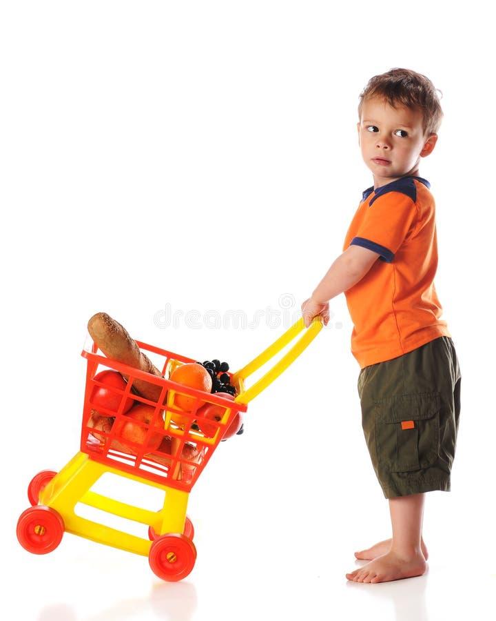 покупатель preschool стоковое изображение
