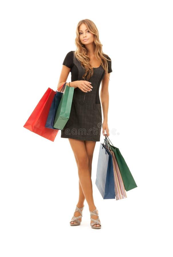 Покупатель стоковое изображение rf