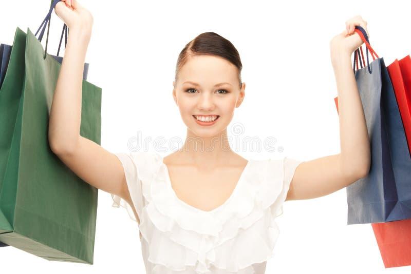 Покупатель стоковое изображение