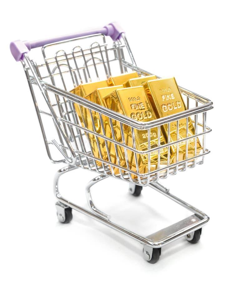 Покупать золото стоковое изображение rf