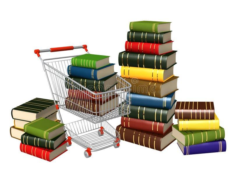 покупать книг иллюстрация штока