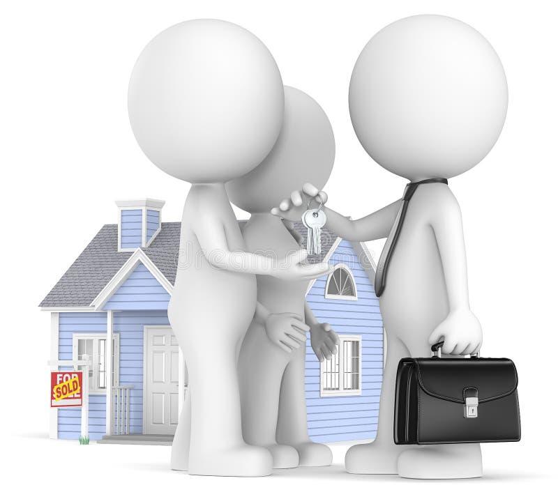 Покупать дом. бесплатная иллюстрация
