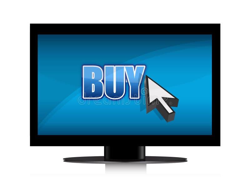 покупая иллюстрация tv бесплатная иллюстрация