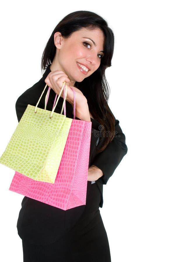 покупка девушки стоковое изображение