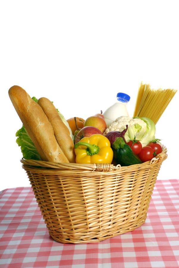 покупка еды стоковое изображение