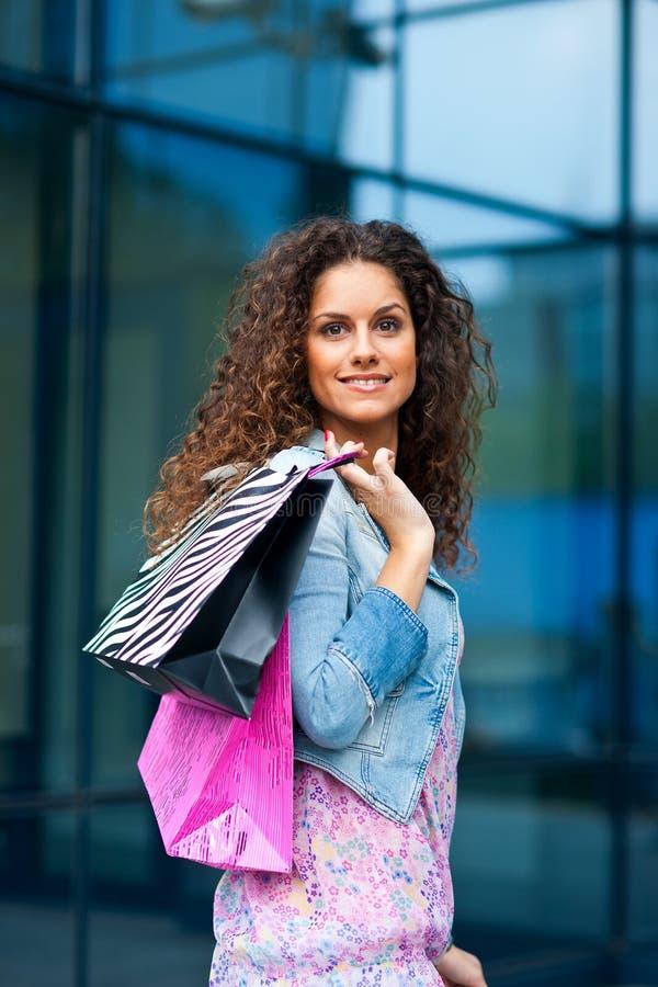 Покупка женщины стоковое фото rf
