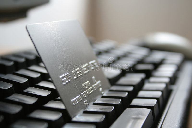 покупка интернета стоковые фото
