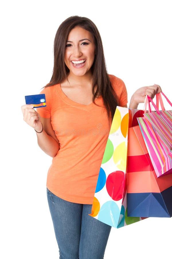 покупка кредита карточки стоковые изображения