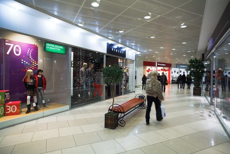 покупка мола центра стоковое фото rf