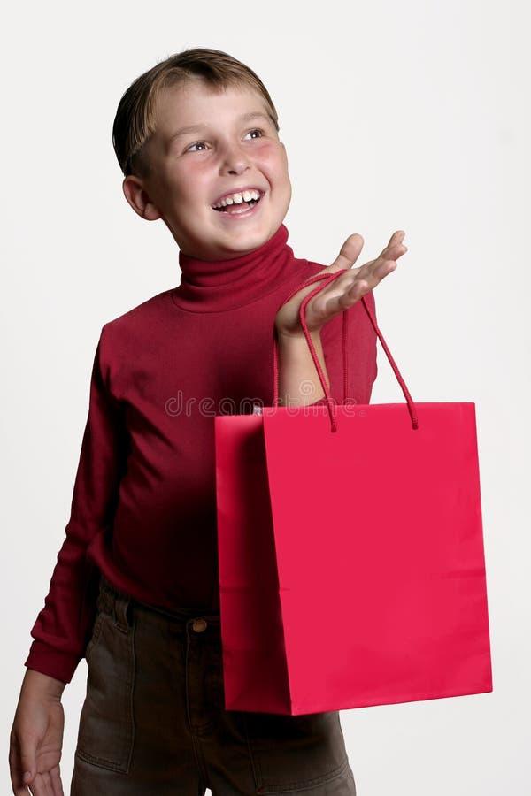 покупка подарка стоковая фотография