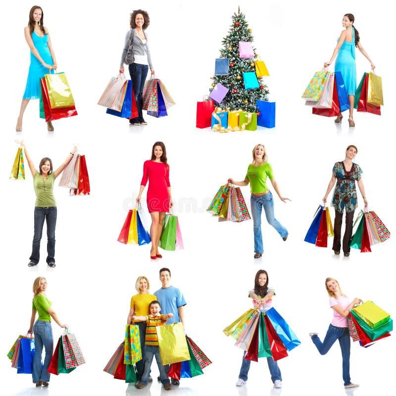 покупка рождества стоковая фотография rf