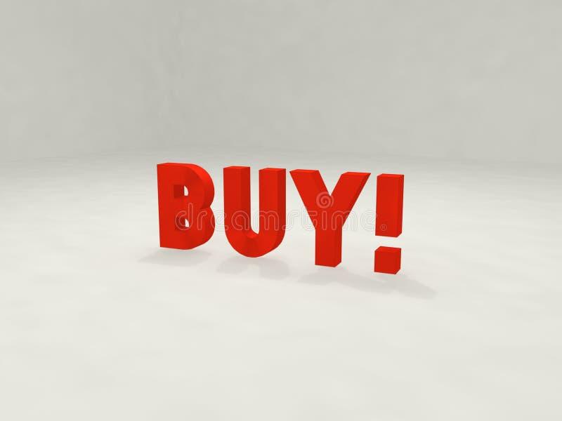 покупка 3d иллюстрация вектора