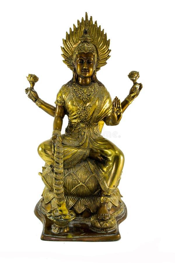 Поклонение Lakshmi стоковое фото