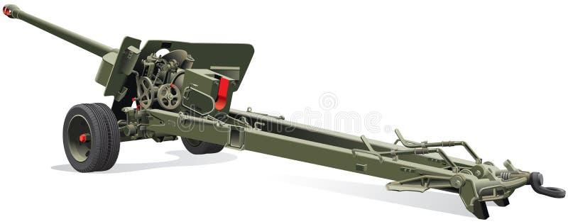 полевая пушка старая Стоковое Фото