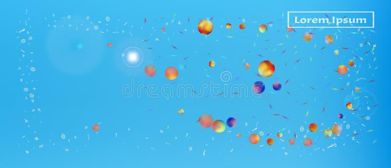 Полезная предпосылка космоса конспекта ультра широкая иллюстрация штока