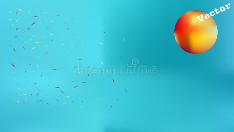 Полезный абстрактный цвет изображения предпосылки космоса бесплатная иллюстрация