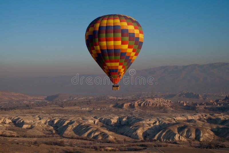 полет воздушного шара горячий стоковые изображения