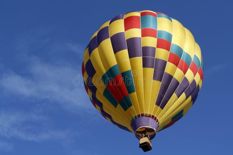 полет воздушного шара горячий стоковая фотография rf