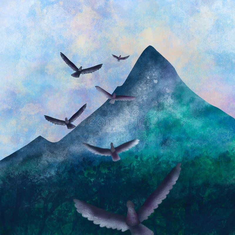 Полет орла стоковое фото