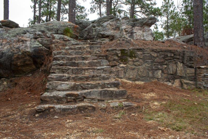 Лестница к нигде стоковое фото rf