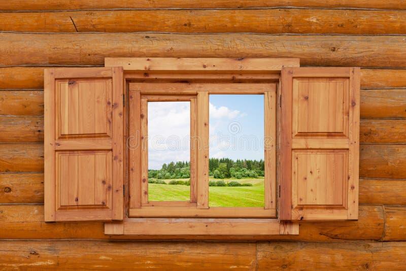Поле видимо от окна стоковая фотография