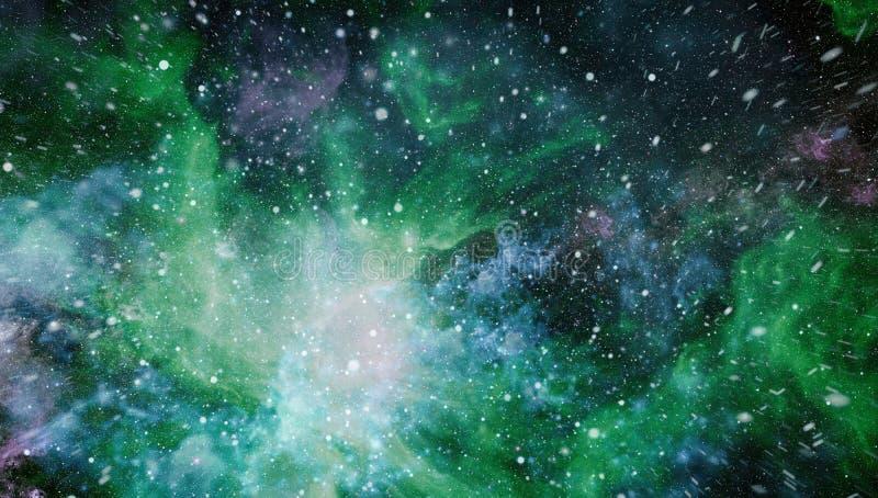 Поле звезды в глубоком космосе много световых год далеко от земли Элементы этого изображения поставленные NASA стоковая фотография rf