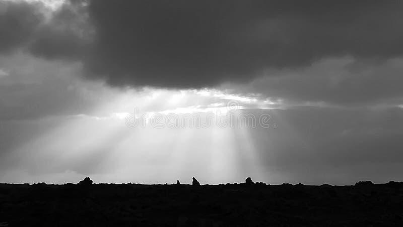 Поле лавы стоковая фотография