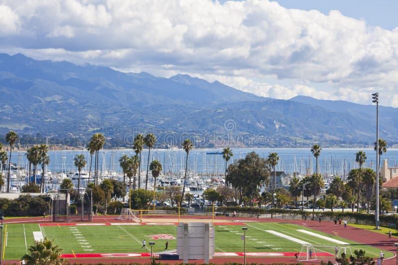 Поле спортов Santa Barbara стоковые изображения