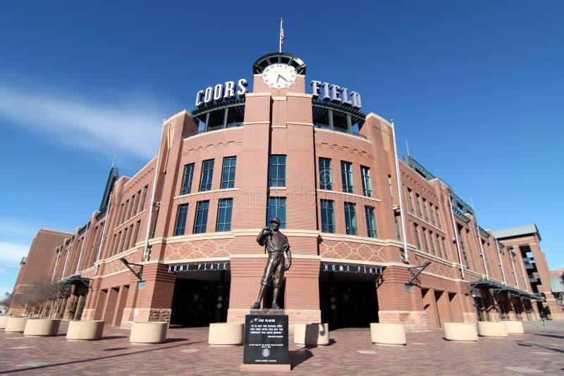 Поле Coors - Денвер, Колорадо стоковая фотография rf