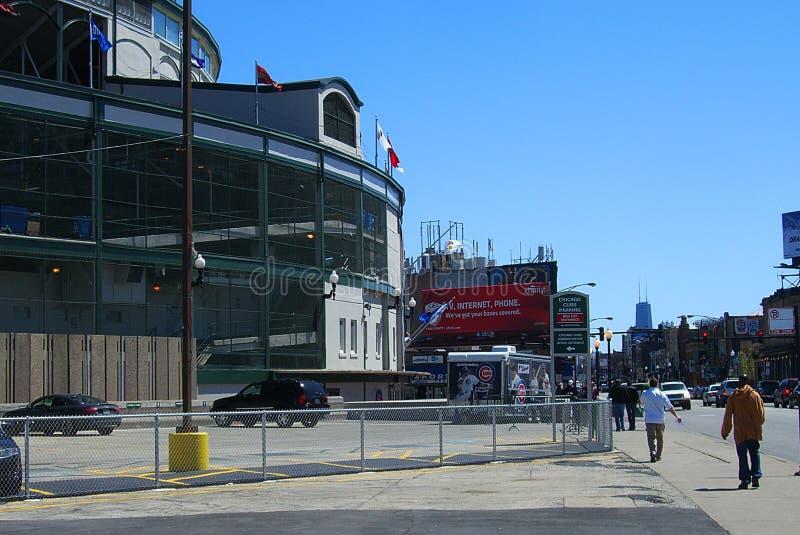 Поле Wrigley - Чикаго Cubs стоковая фотография rf