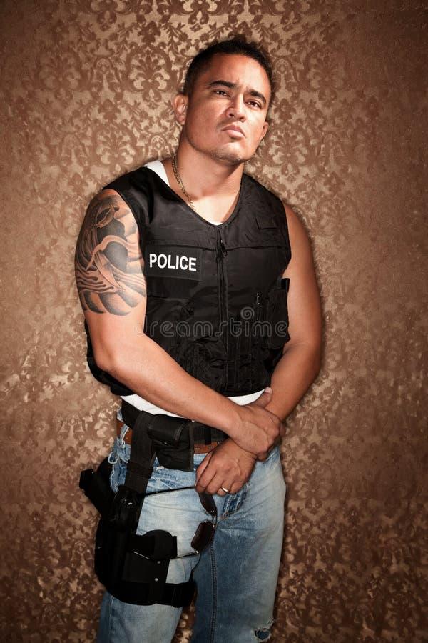полиции офицера стоковая фотография