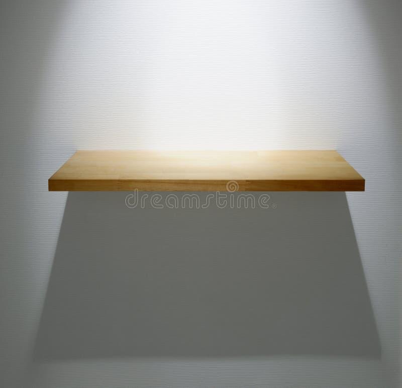 полка деревянная стоковая фотография rf