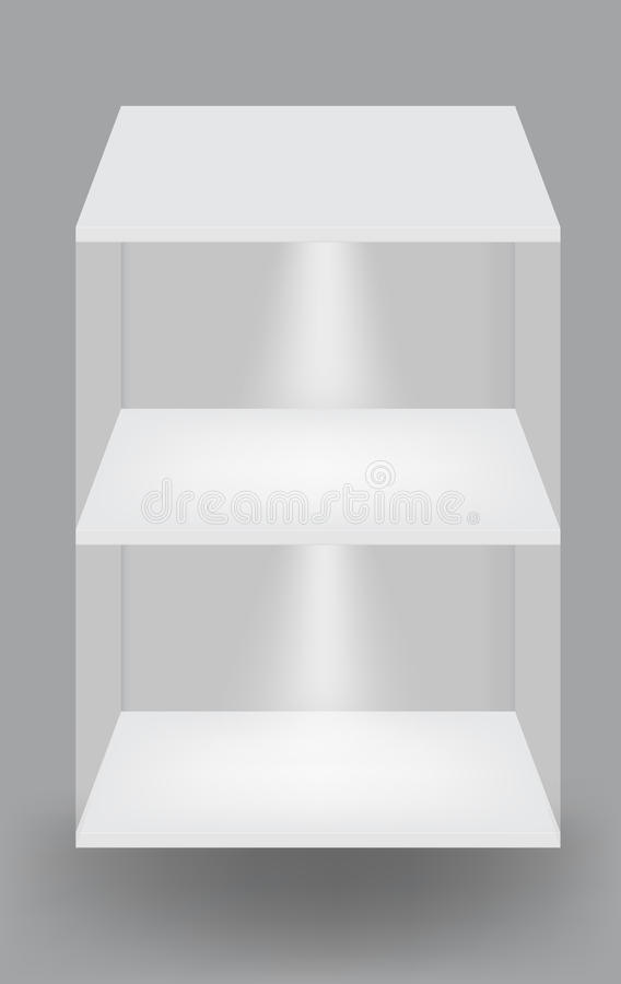 полки предпосылки пустые серые светлые белые бесплатная иллюстрация