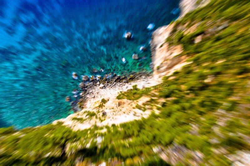 полная боязнь высоты стоковое фото