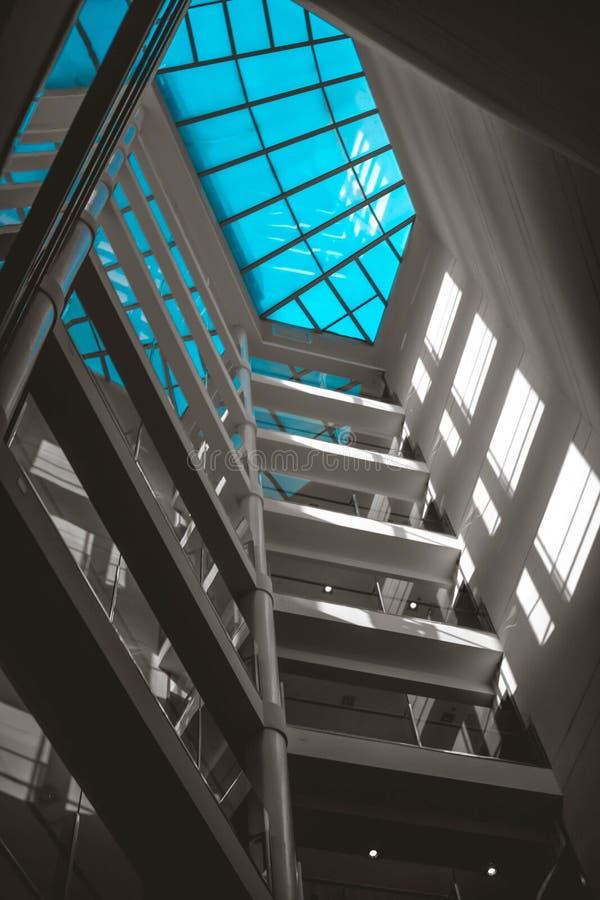 Полное небо сини стоковые фотографии rf