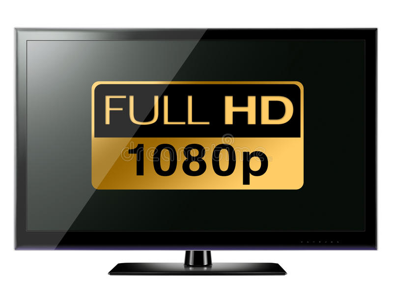 полное hd tv бесплатная иллюстрация