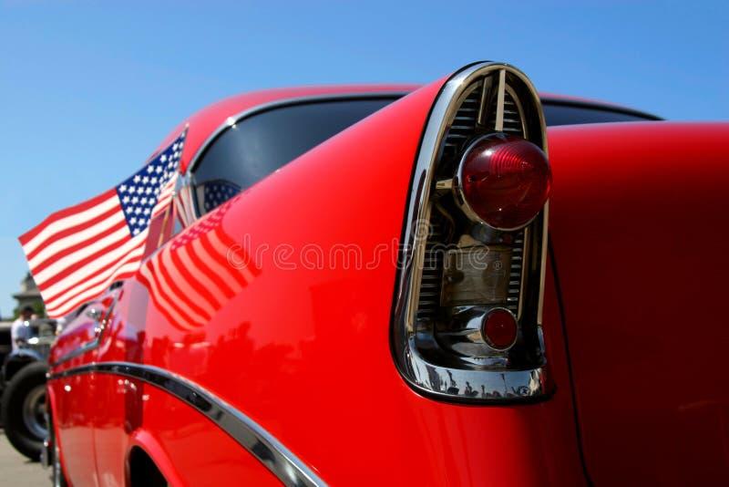 полностью американский автомобиль стоковые изображения