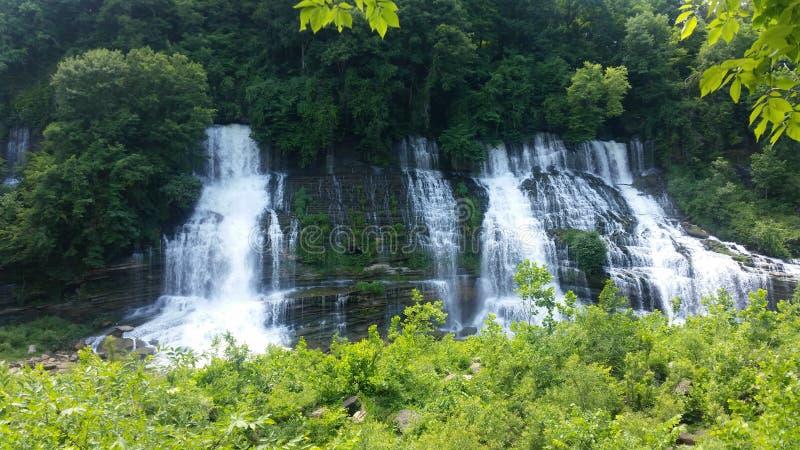 полный водопад стоковое изображение