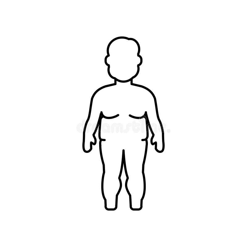 Полный значок ребенк на белой предпосылке иллюстрация вектора