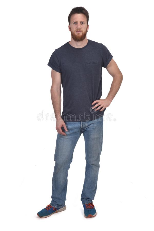 Полный портрет руки человека на талии стоковые фото