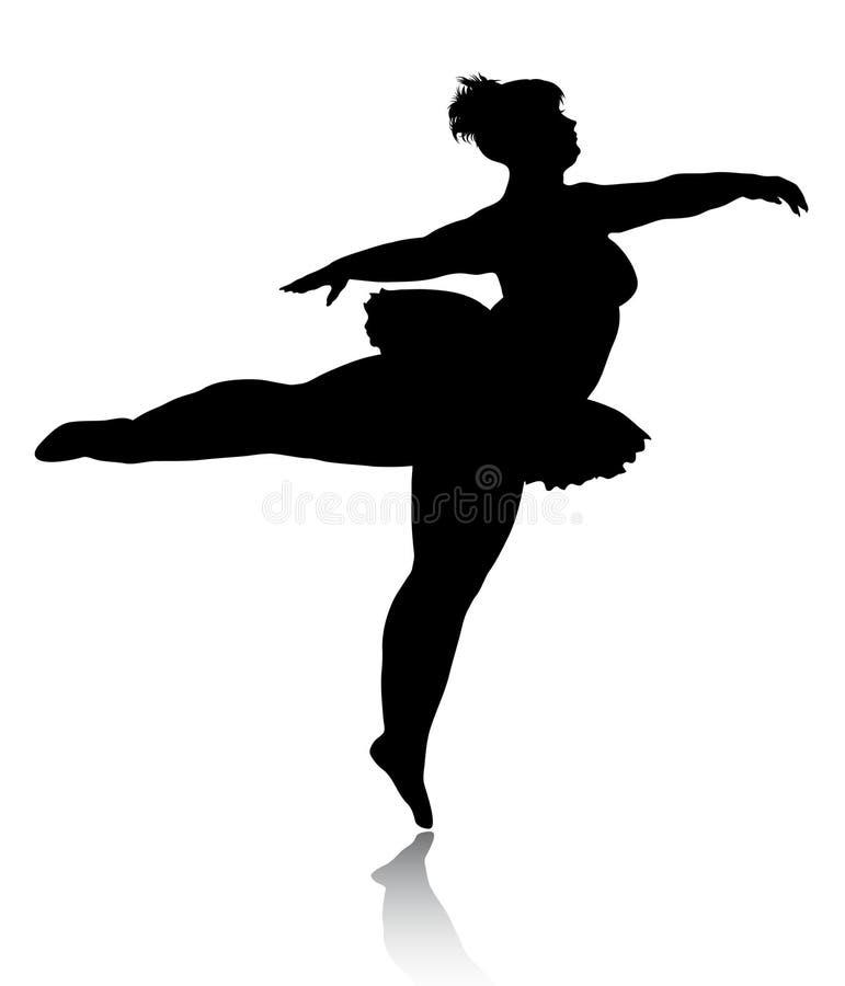балерина силуэт картинки