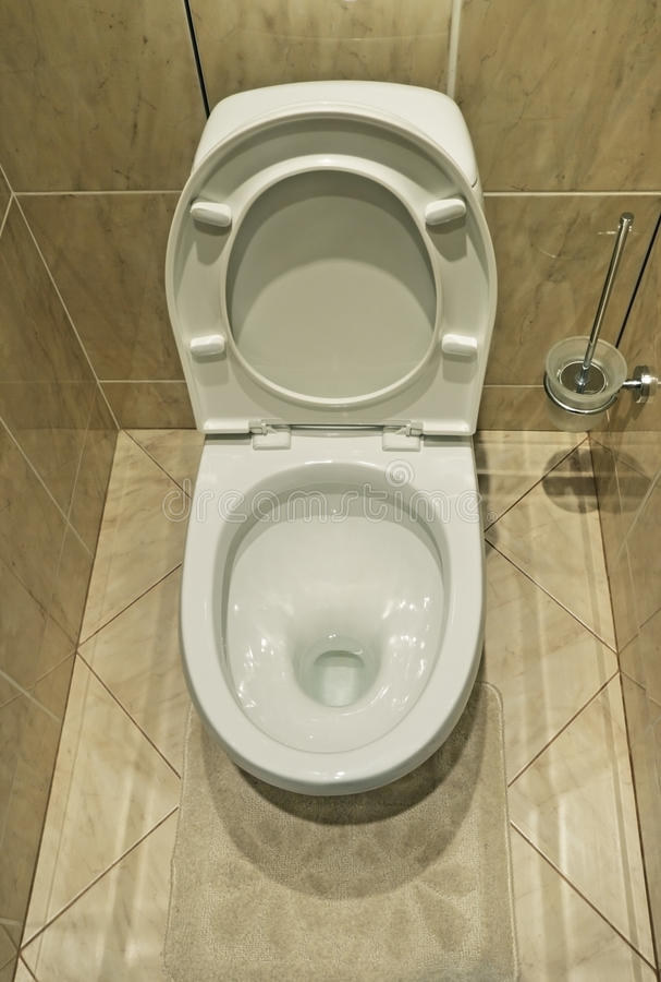 полный туалет стоковая фотография
