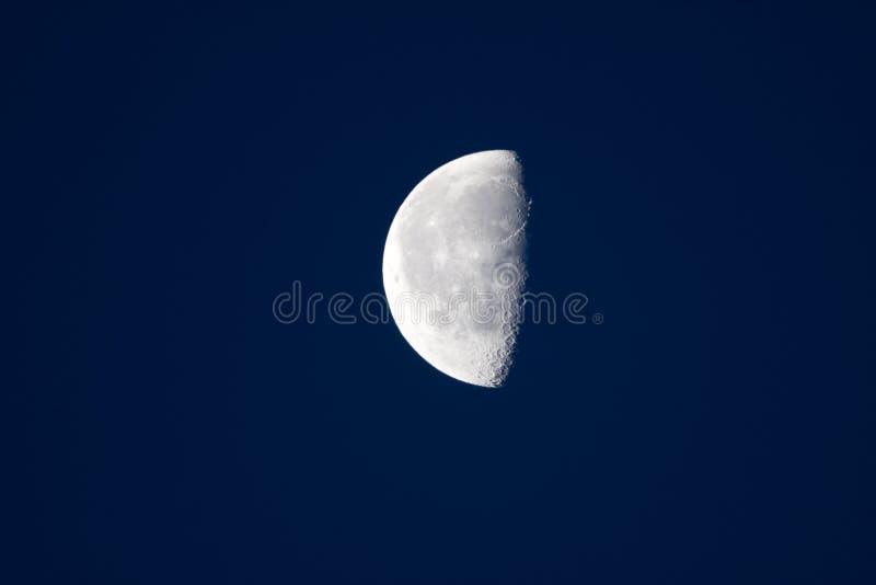 половинная луна стоковая фотография