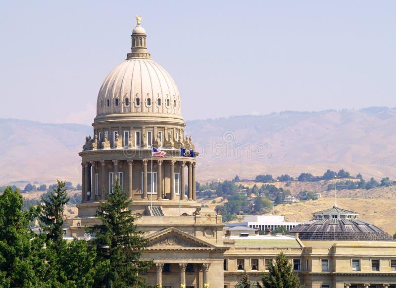 положение Айдахо капитолия стоковая фотография rf
