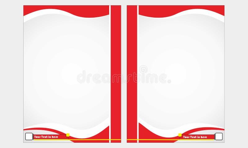 Положение вне книга красный цвет стоковые изображения rf