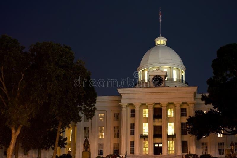 положение капитолия Алабамы стоковое изображение rf