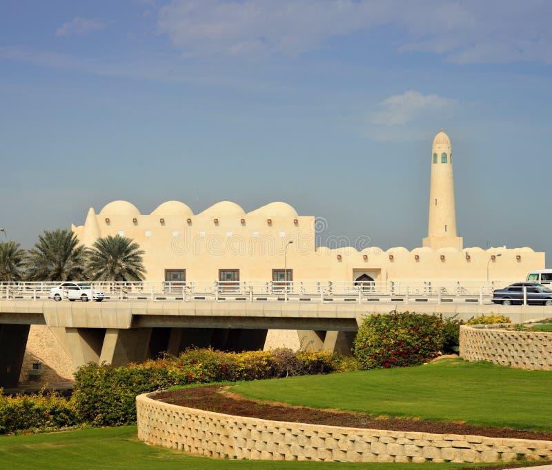 положение Катара мечети doha стоковое изображение