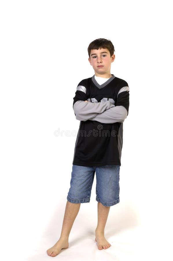 положение мальчика стоковое фото